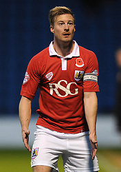 Bristol City's Wade Elliott - Photo mandatory by-line: Dougie Allward/JMP - Mobile: 07966 386802 - 08/11/2014 - SPORT - Football - Gillingham - Priestfield Stadium - Gillingham v Bristol City - FA Cup - Round One