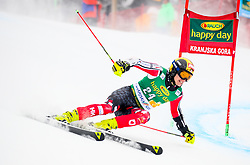 Erik Read of Canada competes during 1st run of Men's GiantSlalom race of FIS Alpine Ski World Cup 57th Vitranc Cup 2018, on March 3, 2018 in Kranjska Gora, Slovenia. Photo by Ziga Zupan / Sportida