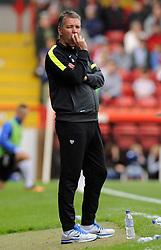 Peterborough United Manager, Darren Ferguson   - Photo mandatory by-line: Joe Meredith/JMP - Tel: Mobile: 07966 386802 14/09/2013 - SPORT - FOOTBALL -  Ashton Gate - Bristol - Bristol City V Peterborough United - Sky Bet League One