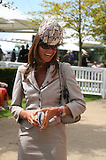 Countess Debbie von Bismarck. Glorious Goodwood. 31 July 2007.  -DO NOT ARCHIVE-© Copyright Photograph by Dafydd Jones. 248 Clapham Rd. London SW9 0PZ. Tel 0207 820 0771. www.dafjones.com.