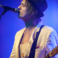 Peter Doherty in concert at The Barrowlands, Glasgow, Scotland, Britain, 13th May 2016