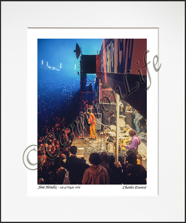 Jimi Hendrix Experience - An affordable archival quality matted print ready for framing at home.<br />