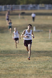 Holy Cross' Dominic Perroinie won the 2010 KHSAA Class 1A Cross Country title at the Kentucky Horse Park in Lexington Nov. 13, 2010. (By Jonathan Palmer, Special to the Courier-Journal) Nov. 13, 2010