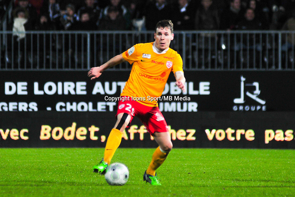 Romain Grange  - 09.01.2015 - Angers / Nancy - 19eme journee de Ligue 2 <br /> Photo : Philippe Le Brech / Icon Sport