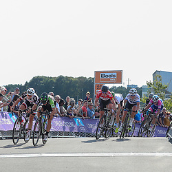 01-09-2018: Wielrennen: Ladies Tour: Sittard