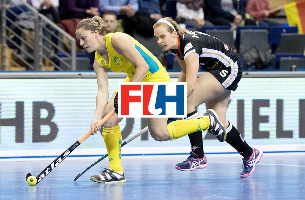 BERLIN - Indoor Hockey World Cup<br /> Women: Germany  - Australia<br /> foto: AUSTIN Lauren.<br /> WORLDSPORTPICS COPYRIGHT FRANK UIJLENBROEK