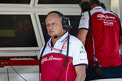August 30, 2019, Spa-Francorchamps, Belgium: Motorsports: FIA Formula One World Championship 2019, Grand Prix of Belgium, ..Frederic Vasseur (FRA, Alfa Romeo Racing) (Credit Image: © Hoch Zwei via ZUMA Wire)