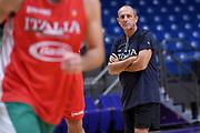 Ettore Messina<br /> Nazionale Italiana Maschile Senior<br /> Eurobasket 2017 - Group Phase<br /> Israele Italia Israel Italy<br /> FIP 2017<br /> Tel Aviv, 31/08/2017<br /> Foto M.Ceretti / Ciamillo - Castoria
