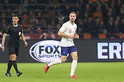 England midfielder Jordan Henderson during the Friendly match between Netherlands and England at the Amsterdam Arena, Amsterdam, Netherlands on 23 March 2018. Picture by Phil Duncan.