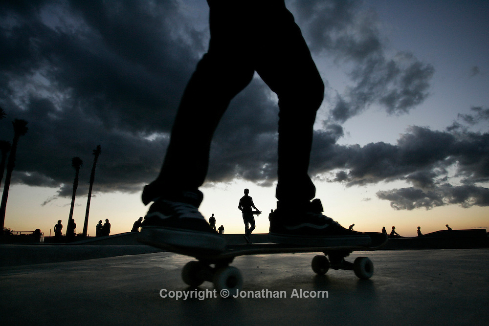 "Dec 22, 2009 - Venice, California, USA - The new Venice Skateboard Park officially called the ""Dennis Polar Bear"" Agnew Memorial Sk8 park opened in world famous Venice Beach in October ."