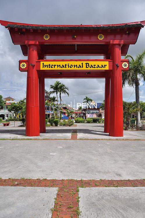 travel photography of the international bazaar