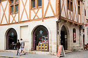 Cafe La Rose de Vergy in Rue de la Chouette at Dijon in the Burgundy region of France