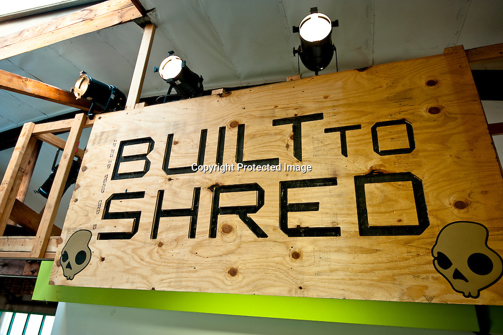 Fuel TV's Built To Shred Sign