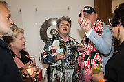 GRAHAM NORTON, SANDI TOKSVIG, DEBBIE TOKSVIG, BOB AND ROBERTA SMITH, , Royal Academy of arts summer exhibition summer party. Piccadilly. London. 4 June 2019
