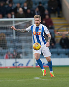 18th November 2017, Dens Park, Dundee, Scotland; Scottish Premier League football, Dundee versus Kilmarnock; Kilmarnock's Alan Power
