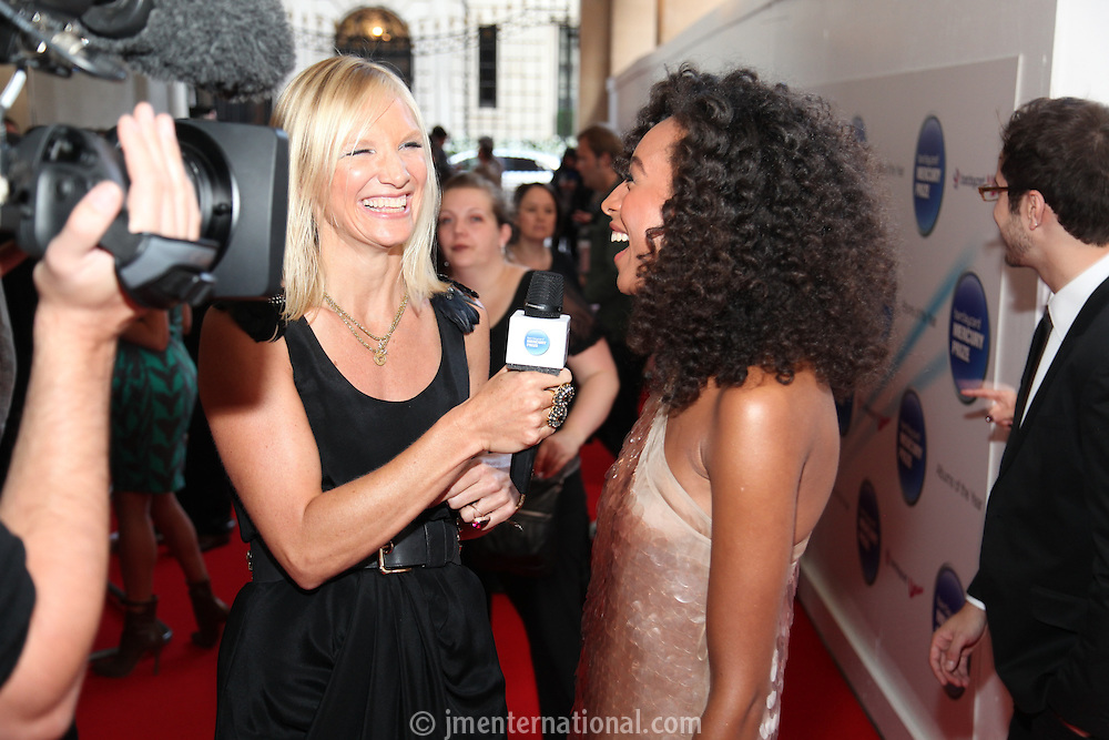 Jo Whiley and Corinne Bailey Rae