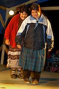 Elder first nation Innus gathering, Lac Saint-Jean, Quebec