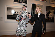 ERIN O'CONNOR; EVA HERZIGOVA, Vogue100 A Century of Style. Hosted by Alexandra Shulman and Leon Max. National Portrait Gallery. London. WC2. 9 February 2016.
