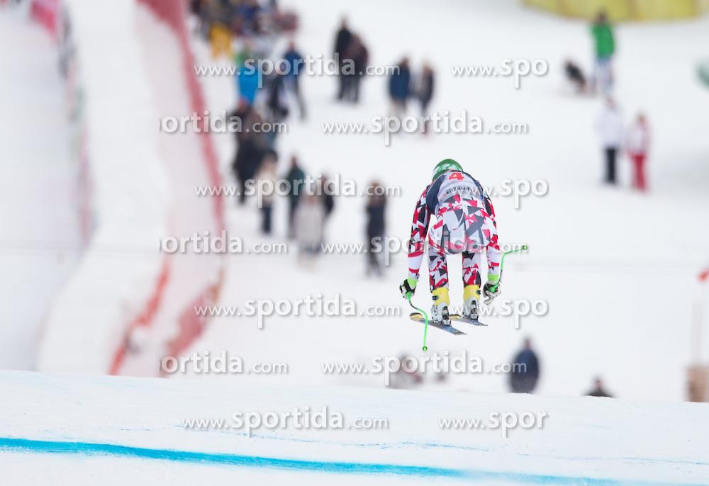 19.01.2016, Streif, Kitzbuehel, AUT, FIS Weltcup Ski Alpin, Kitzbuehel, 1. Abfahrtstraining, Herren, im Bild Klaus Kroell (AUT) // Klaus Kroell of Austria in action during 1st Training of the men's Downhill Race of Kitzbuehel FIS Ski Alpine World Cup at the Streif in Kitzbuehel, Austria on 2016/01/19. EXPA Pictures © 2016, PhotoCredit: EXPA/ Johann Groder
