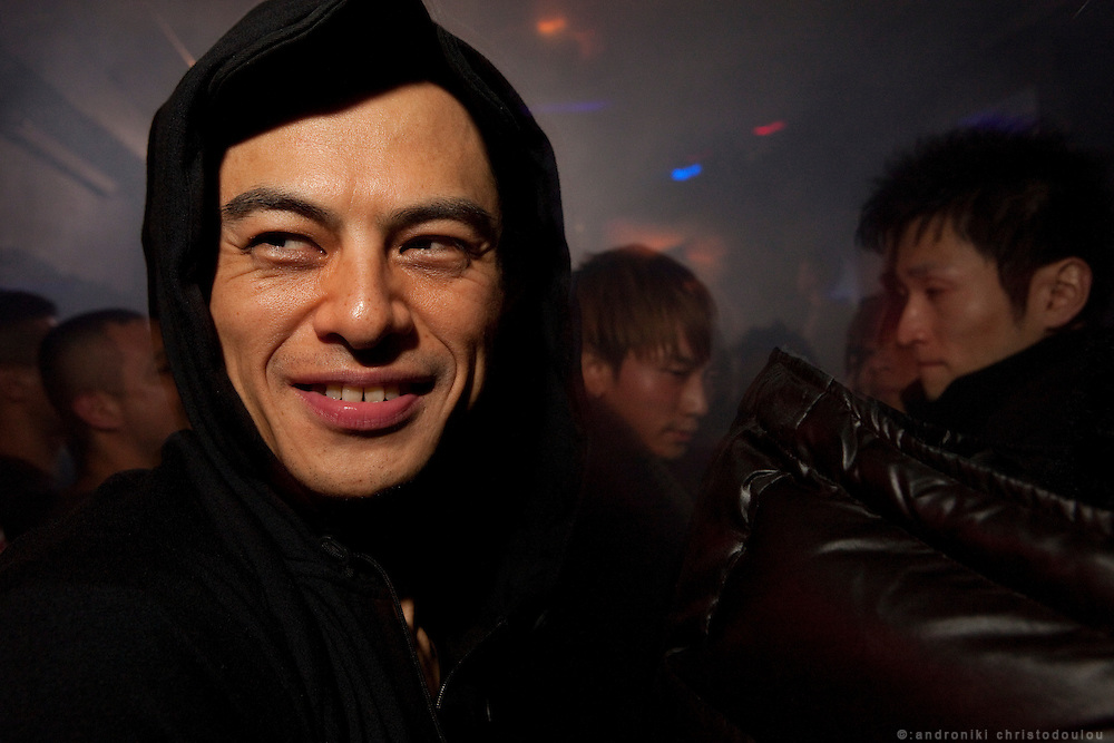 Club Annex is very popular among Japanese gay men. Dance-floor