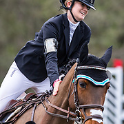 Ivie Cullen-Dean and Fernhill Full Throttle at the Red Hills International Horse Trials in Tallahassee, Florida.