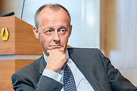 18 JUN 2018, BERLIN/GERMANY:<br /> Friedrich Merz, Vorsitzender des Aufsichtsrates BlackRock Asset Management Deutschland AG, Veranstaltung Wirtschaftsforum der SPD: &quot;Finanzplatz Deutschland 2030 - Vision, Strategie, Massnahmen!&quot;, Haus der Commerzbank<br /> IMAGE: 20180618-01-147