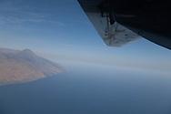 Cape Verde. aerial view Fogo volcano  Fogo island     / Cap-Vert:  vue d avion volcan pic de Fogo  ile de Fogo    /26