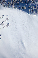Out-of-bounds at Alta Ski Resort
