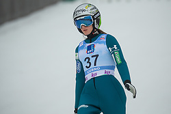 KOMAR Katra (SLO) during second round on day 2 of  FIS Ski Jumping World Cup Ladies Ljubno 2020, on February 23th, 2020 in Ljubno ob Savinji, Ljubno ob Savinji, Slovenia. Photo by Matic Ritonja / Sportida