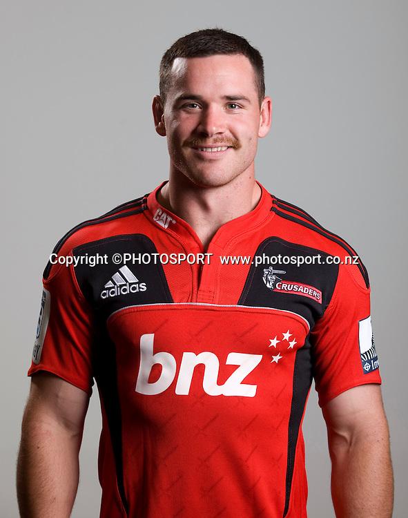 Ryan Crotty. Canterbury Crusaders Team 2012 Headshots, Rugby Park, Christchurch, Tuesday 22 November 2011. Photo : Joseph Johnson/www.photosport.co.nz