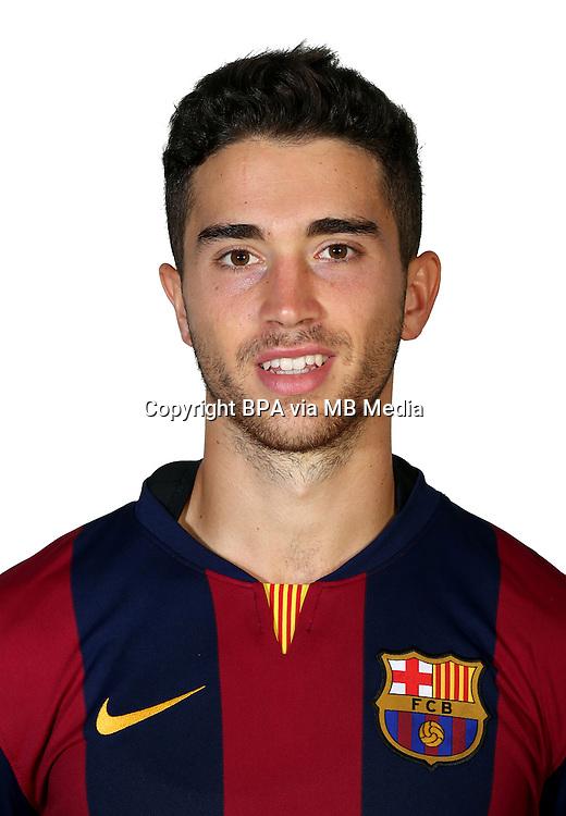 Spain - La Liga Adelante 2014-2015 / <br /> ( F.C. Barcelona &quot; B &quot; )<br /> Pol Calvet Planellas