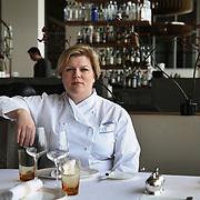Helena Puolakka, Executive Chef at the Skylon, Royal Festival Hall in London.