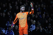 Blackburn Rovers goalkeeper, Jason Steele (1) during the EFL Sky Bet Championship match between Ipswich Town and Blackburn Rovers at Portman Road, Ipswich, England on 14 January 2017. Photo by Nigel Cole.