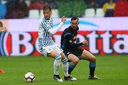 """Foto LaPresse/Filippo Rubin<br /> 12/05/2019 Ferrara (Italia)<br /> Sport Calcio<br /> Spal - Napoli - Campionato di calcio Serie A 2018/2019 - Stadio """"Paolo Mazza""""<br /> Nella foto: ALESSANDRO MURGIA (SPAL)<br /> <br /> Photo LaPresse/Filippo Rubin<br /> May 12, 2019 Ferrara (Italy)<br /> Sport Soccer<br /> Spal vs Napoli - Italian Football Championship League A 2018/2019 - """"Paolo Mazza"""" Stadium <br /> In the pic: ALESSANDRO MURGIA (SPAL)"""