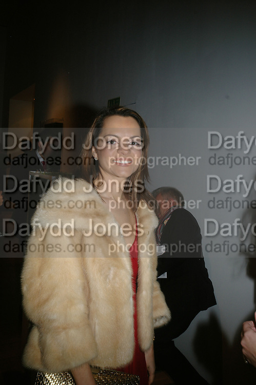 Maria Hafsistefanis  Founder of Radial, ' Show Off' Theo Fennell exhibition co-hosted wit Vanity Fair. Royal Academy. Burlington Gdns. London. 27 September 2007. -DO NOT ARCHIVE-© Copyright Photograph by Dafydd Jones. 248 Clapham Rd. London SW9 0PZ. Tel 0207 820 0771. www.dafjones.com.