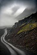 A typcial dirt road in Iceland's northern reaches near Djupavik.