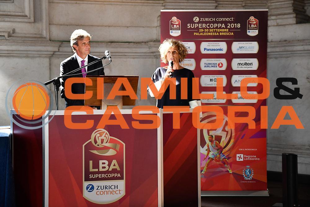 bragaglio<br /> presentazioe supercoppa 2018<br /> Legabasket Serie A 2018/19<br /> Brescia, 24/09/2018<br /> Ciamillo-Castoria