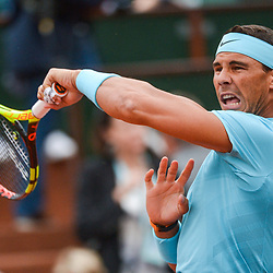 Rafael Nadal of Spain during Day 3 for the French Open 2018 on May 29, 2018 in Paris, France. (Photo by Baptiste Fernandez/Icon Sport)