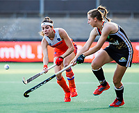 AMSTELVEEN - Eva de Goede (Ned)   tijdens de halve finale  Nederland-Duitsland (2-1) van de Pro League hockeywedstrijd dames. COPYRIGHT KOEN SUYK