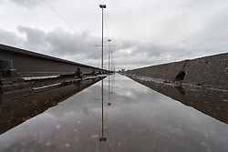 THEMENBILD - Regennasse Fahrbahn nach nächtlichem Stark-Regen am 26. Juli 2015 in Zagreb, Kroatien // Wet roads in the town after heavy rain during night. Zagreb, Croatia on 2015/07/26. EXPA Pictures © 2015, PhotoCredit: EXPA/ Pixsell/ Davor Puklavec<br /> <br /> *****ATTENTION - for AUT, SLO, SUI, SWE, ITA, FRA only****