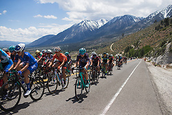 Tayler Wiles (USA) of Trek-Drops Cycling Team rides mid-pack on the final climb on Stage 2 of the Amgen Tour of California - a 108 km road race, starting and finishing in South Lake Tahoe on May 18, 2018, in California, United States. (Photo by Balint Hamvas/Velofocus.com)