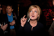 BABETTE PERENO, First night party for Dandy In The Underworld which opened at the  Soho Theatre, 21 Dean Street. House Of St Barnabas, 1 Greek Street, 15 June 2010. -DO NOT ARCHIVE-© Copyright Photograph by Dafydd Jones. 248 Clapham Rd. London SW9 0PZ. Tel 0207 820 0771. www.dafjones.com.