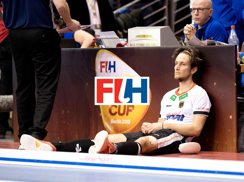 BERLIN - Indoor Hockey World Cup<br /> Final: Germany - Austria<br /> Austria wins the world championship.<br /> foto: Marco Miltkau.<br /> WORLDSPORTPICS COPYRIGHT FRANK UIJLENBROEK