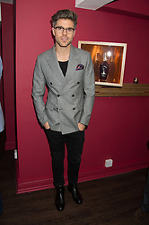 DARREN KENNEDY at the launch of La Maison Remy Martin pop-up private members club at 19 Greek Street, Soho, London on 2nd November 2015.