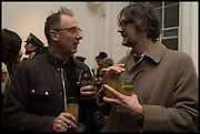 GARY HUME; JARVIS COCKER, Private view, Paul Simonon- Wot no Bike, ICA Nash and Brandon Rooms, London. 20 January 2015