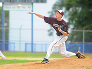 Falls pitcher Cole Ingelido throws a pitch against Yardley Western in the first inning at Neshaminy High School Sunday July 5, 2015 in Langhorne, Pennsylvania. (Photo by William Thomas Cain)