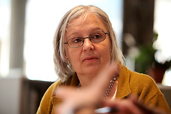 UK ENGLAND LONDON 21APR15 - Architect Barbara Weiss, co-founder of the Skyline Campaign during an interview at her offices.<br /> <br /> jre/Photo by Jiri Rezac<br /> <br /> © Jiri Rezac 2015