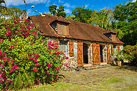"France, Martinique, la ""Pagerie"", cuisine de la maison de Joséphine de Beauharnais // France, Martinique, la ""Pagerie"", kitchen from the house of Joséphine de Beauharnais"