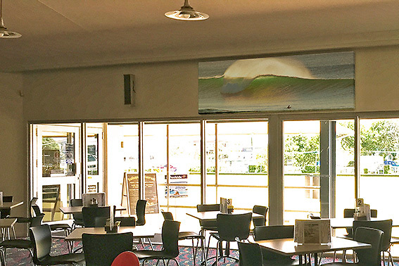 KW17051 - 'winter swell at Coolum'<br />