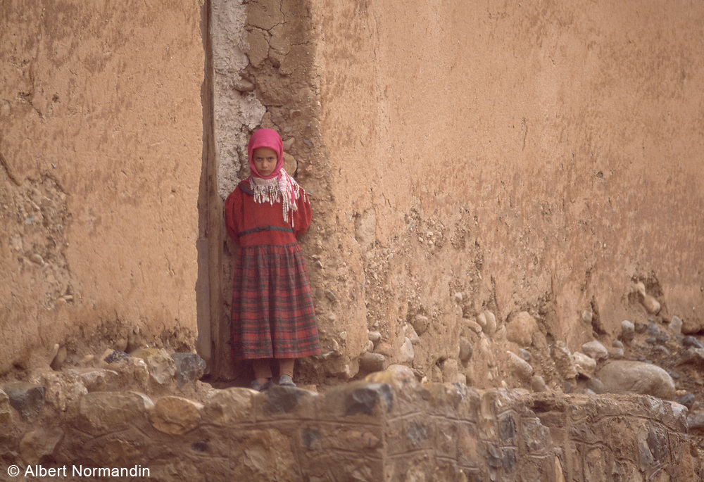 Girl in Red, Dades Gorge, Morocco, 1999